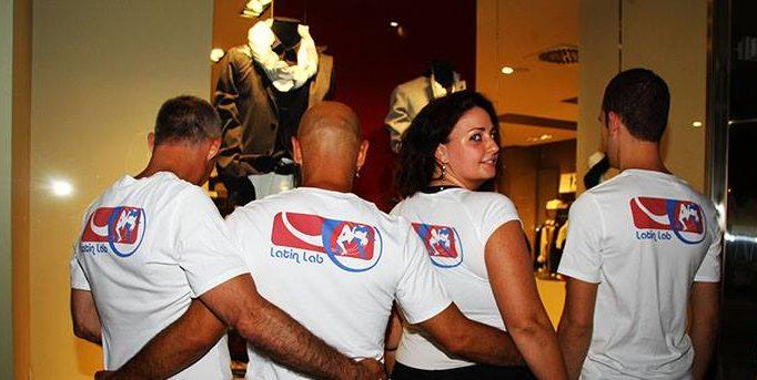 il team di latin lab, scuola di salsa cubana firenze